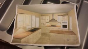 customised kitchen project
